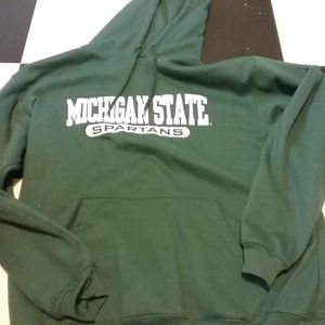 Michigan State University Spartans Hoodie Size L